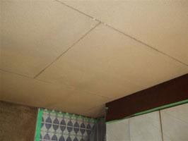 キッチン ペンキ下地天井