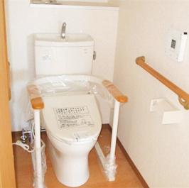 車椅子用トイレ施工後