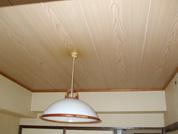 和室天井ベニア張り工事